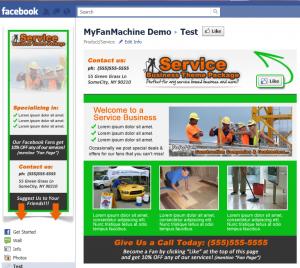 Facebook Page - Service